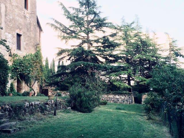 Il giardino a terrazze
