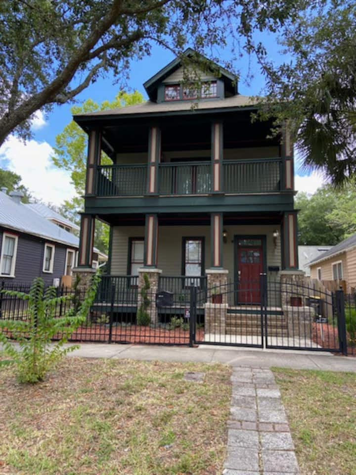Entire House - Heart of Springfield (Downtown Jax)