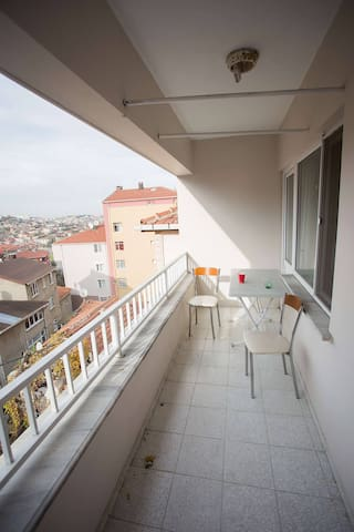 Room near Bosphorus University - Sarıyer - Apartamento