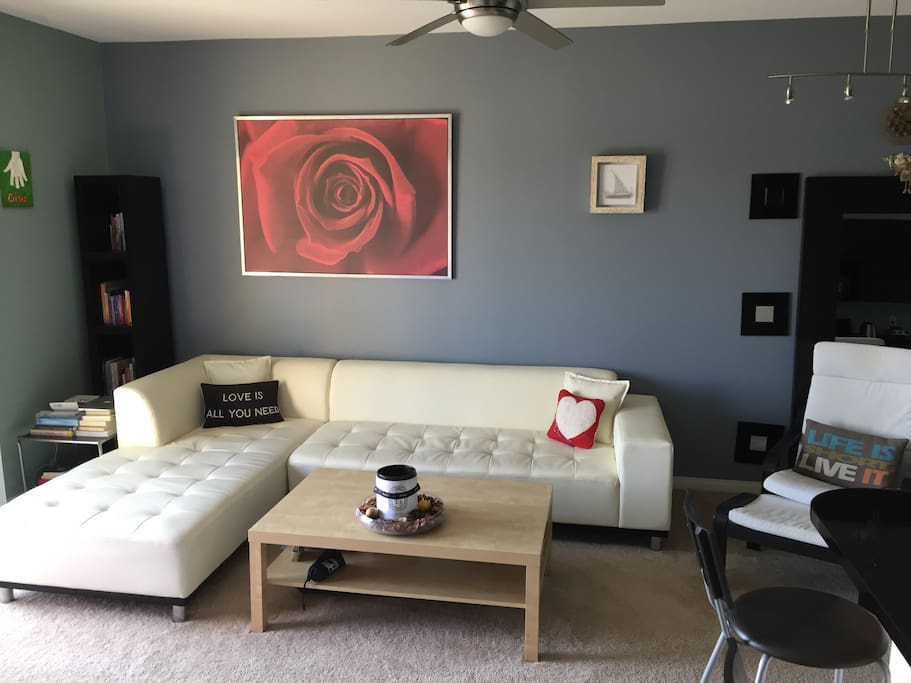 Living Room - time to get cozy;)