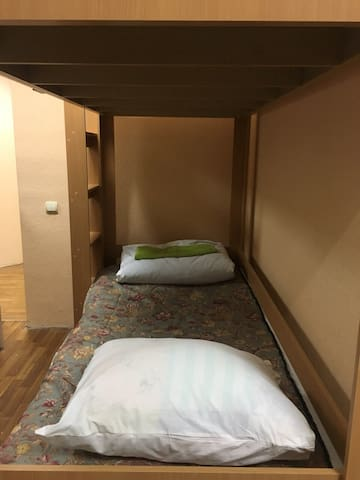 Accommodation for 1 person in a hostel