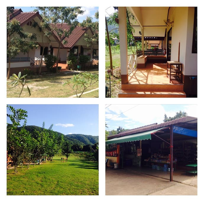 Purit Homestay Villas and convinience store