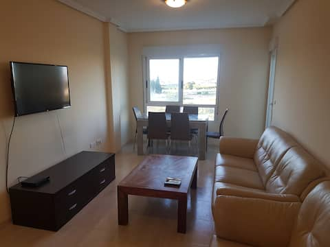 Bright 3 bed apartment in Almoradi with great view