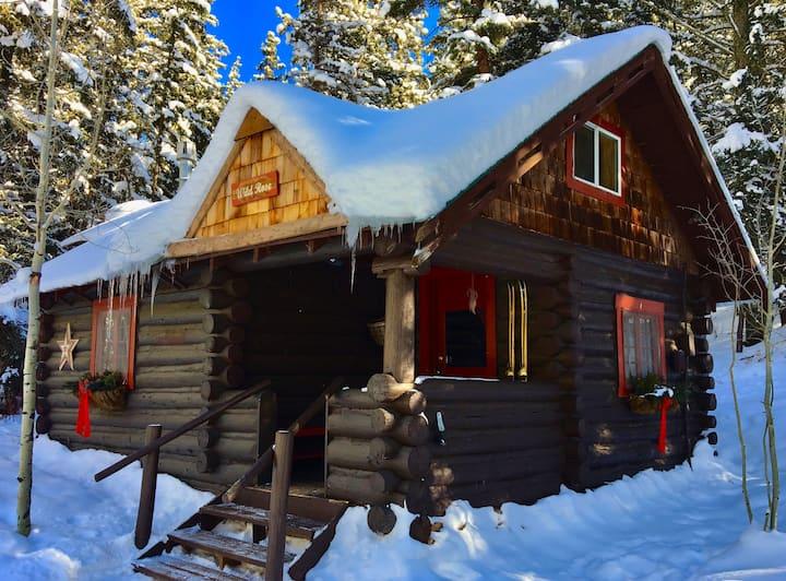 Wild Rose Cabin.  Clean, comfortable, convenient