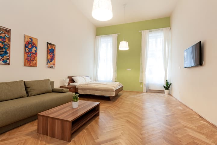 New apartment close to Danube , Inner city