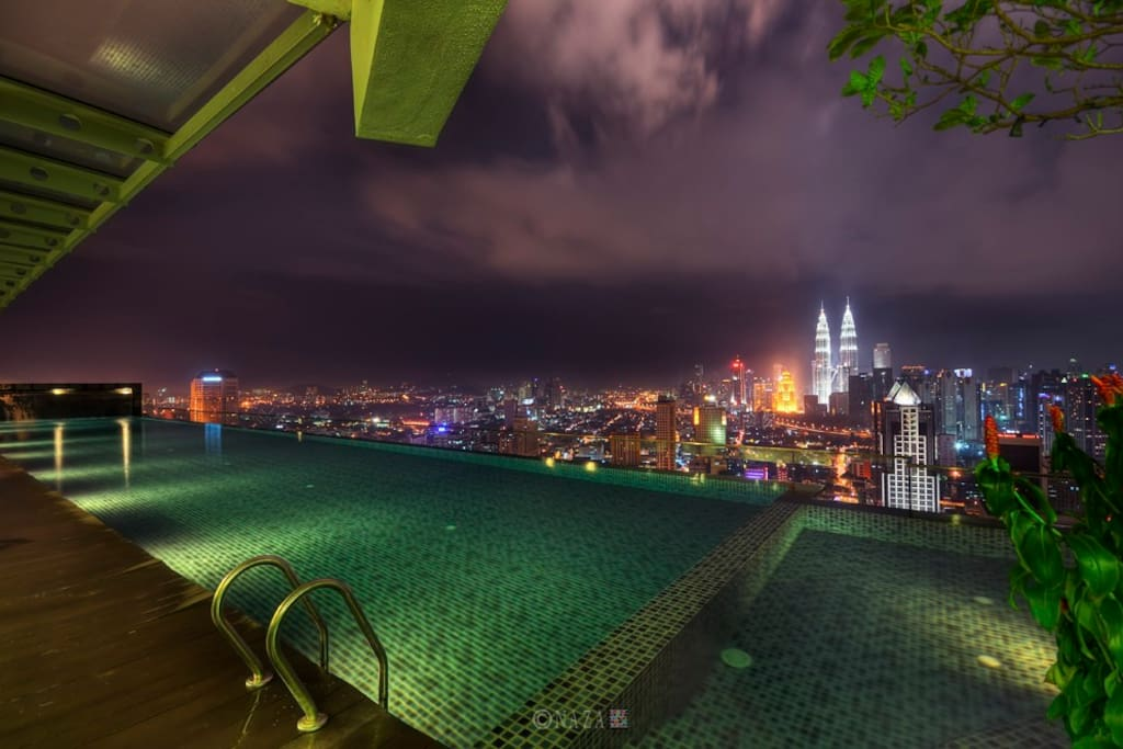 Infinity pool at Level 37!