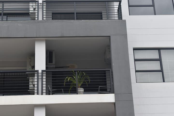 Balcony from outside