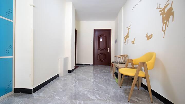 长白山西坡花园公寓1.8大床