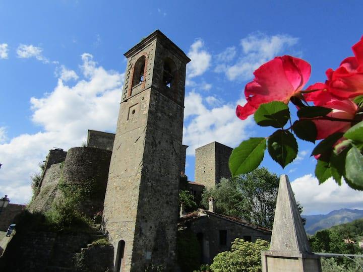 Dimora del Gallo: medieval country village house