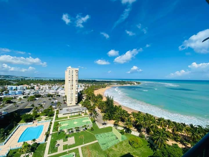 Cozy Condo with Stunning Ocean Views in Luquillo