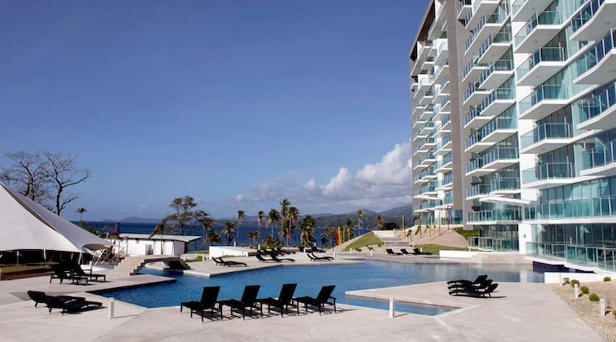 2 Bedroom - Caribbean Beach Condo in Panama - PA - Apartamento