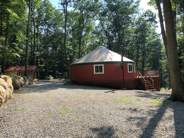Hartwoods Yurt