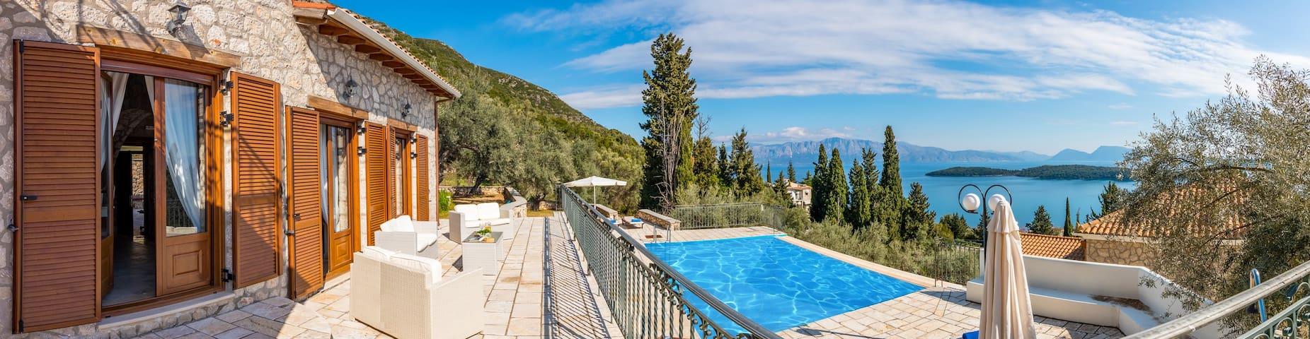 Villas Galatia & Galini - Lefkada - Villa