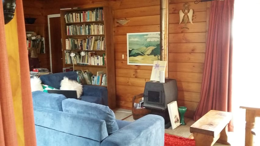 Cosy artsy retreat set into native bush. - Whangarei - Huis