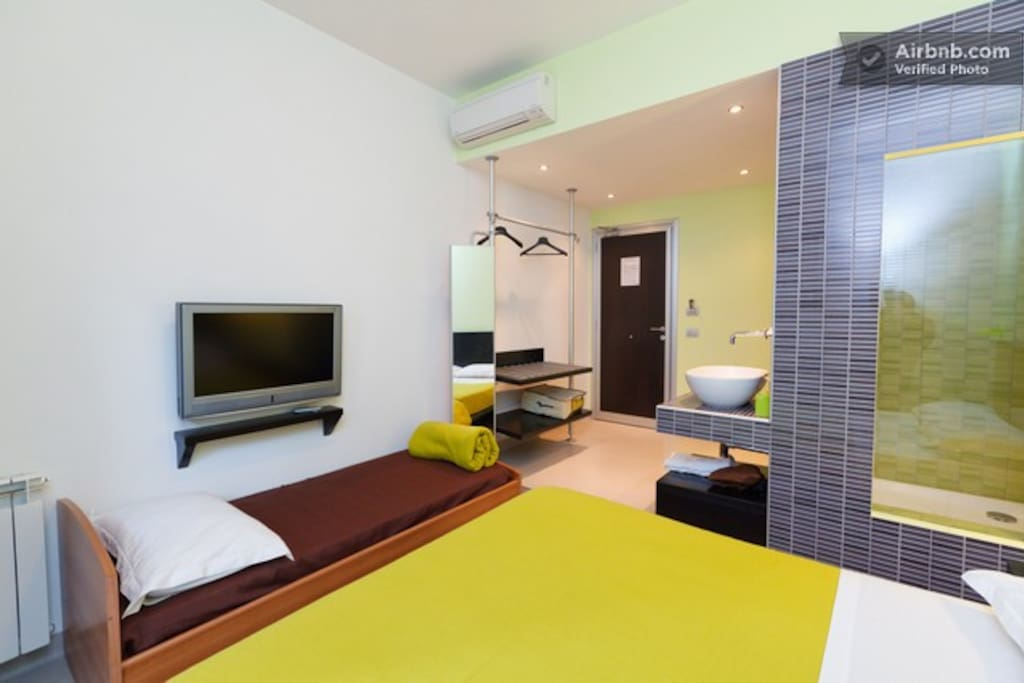 Moai Loggia, tripla o doppia con bagno in camera con doccia panoramica, balcone, internet wifi