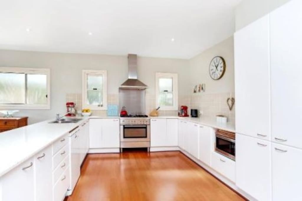 Kitchen with all amenities.
