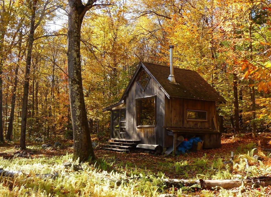 Hermit's Hut in glorious autumn colors.
