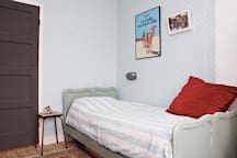 Bedroom with single bed first floor