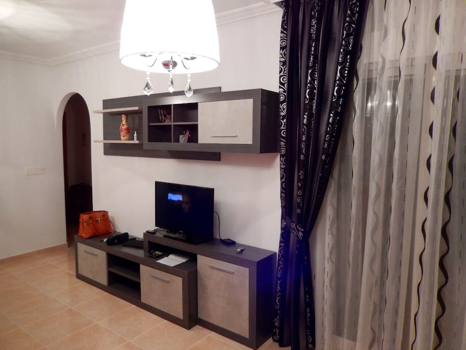 Living room, ip-TV and Wi-Fi