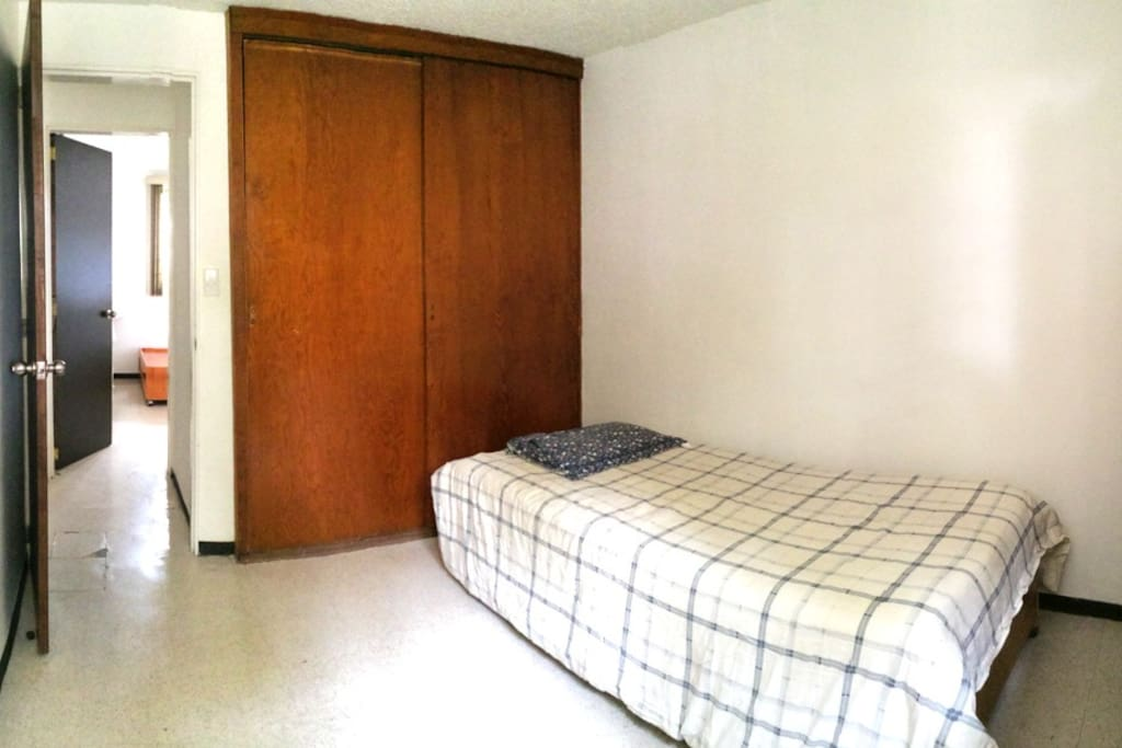 Bedroom 2 - Great accommodation in Mexico City