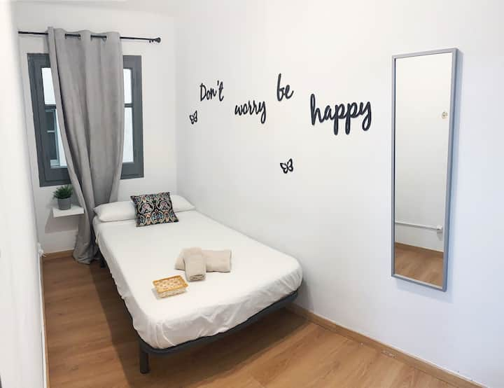 Quiet and cozy single room