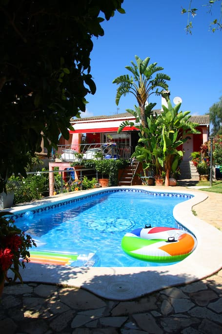 Family house, privat pool,nice view