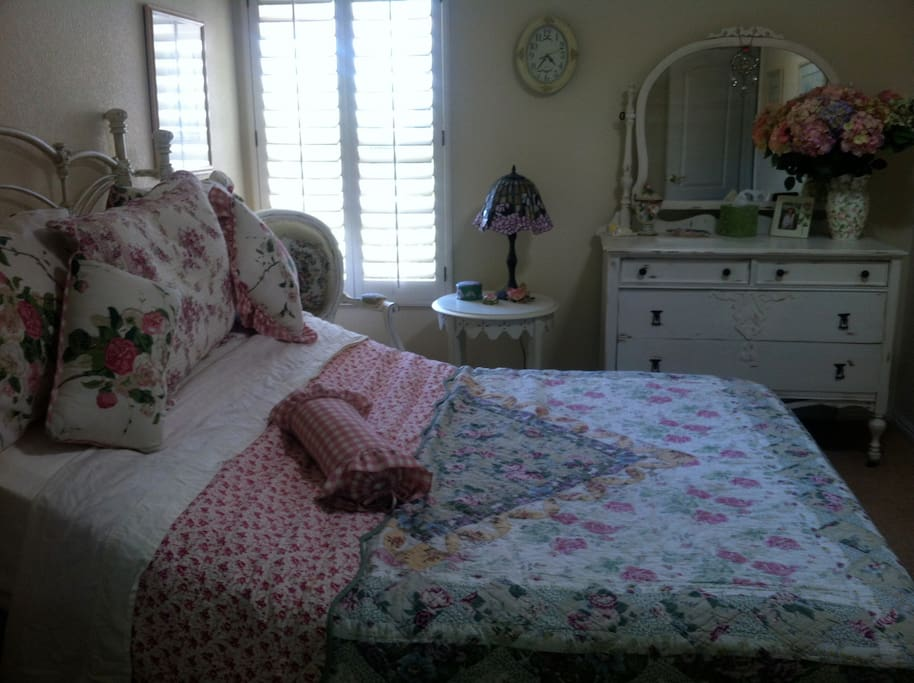Bed elevates at head and feet