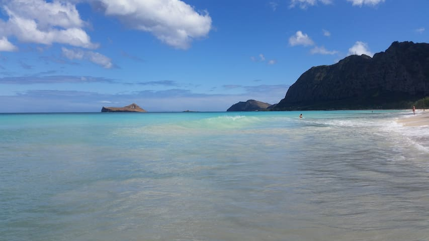 Room beautiful Waimanalo beach 30 day min