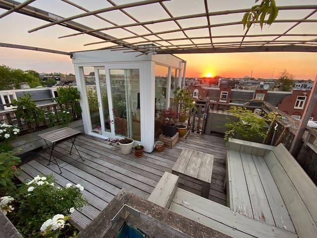 Duplex + rooftop /  Westerpark