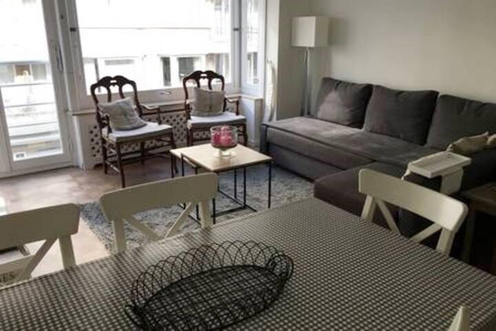 Zoute (P.Triangle) : Appartement très sympa!