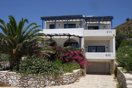 Unique panoramic seaview apartment - Xirokampos - Apartmen