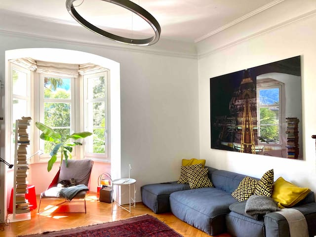 Apartment in a  beautiful historic house in Meran