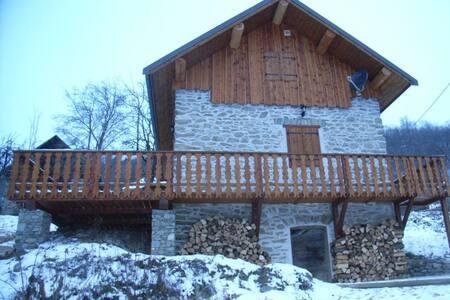 Chalet Le Ramoneur - Saint-Alban-des-Villards - Chatka w górach