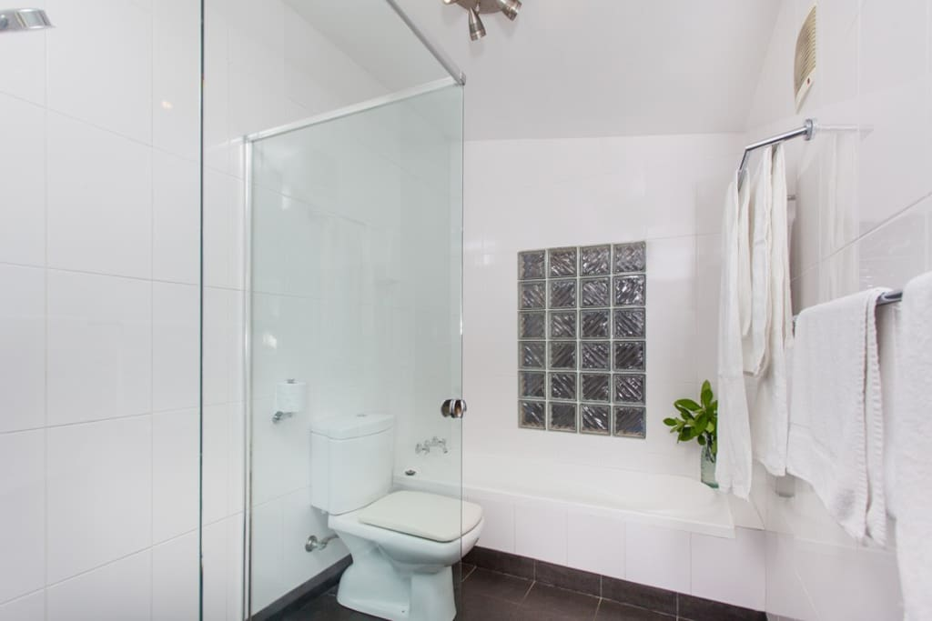Renovated Bathroom with seperate bath