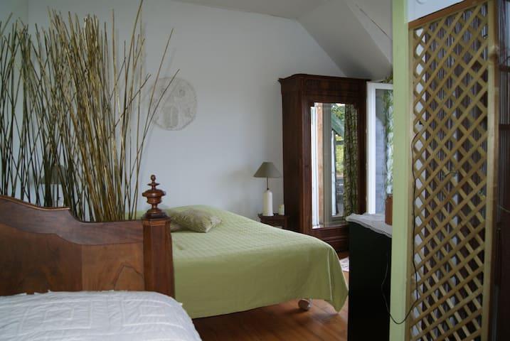 ERMITAGE Chambre des deux amants - Crézancy-en-Sancerre