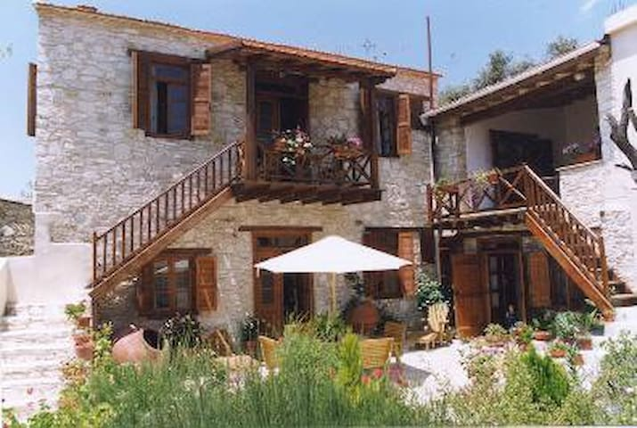 4 Units in Historic Villa - Pano Panagia - Apartament