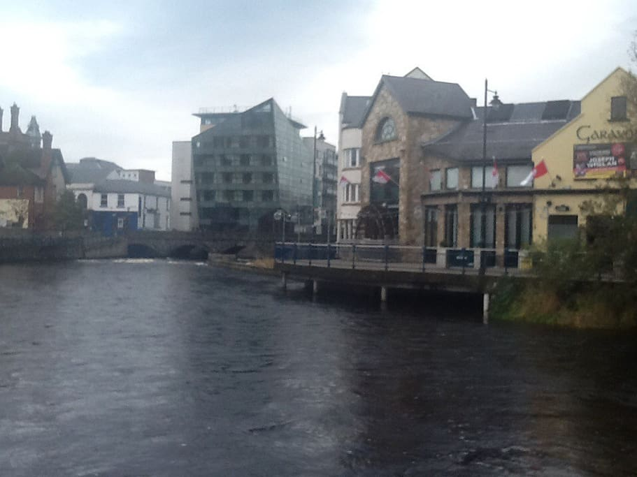 Sligo by the river