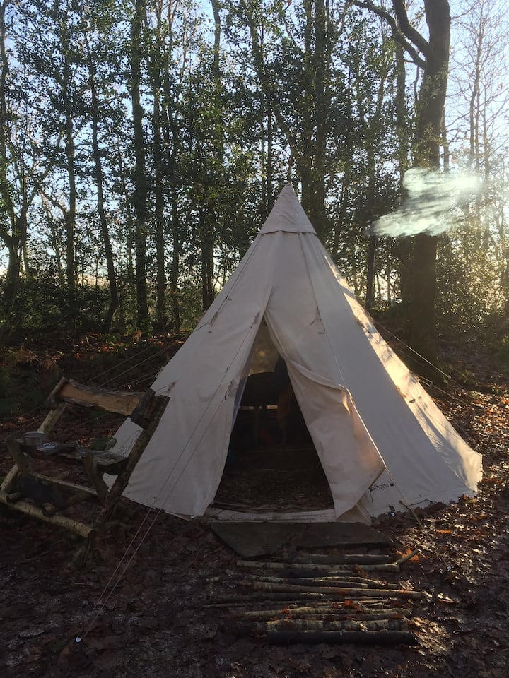 Private Tepee at Woodland Grove, Coniston