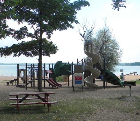 Shell Lake Beach Playground