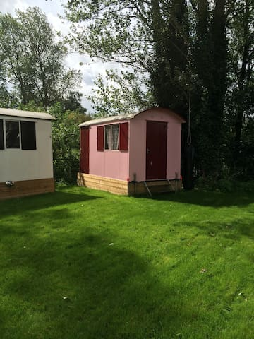3 little pipowagens - Westbeemster - Chalet