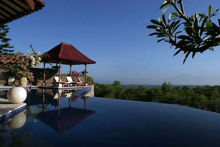 Full Ocean, Volcano View Villa - South Kuta - Vila
