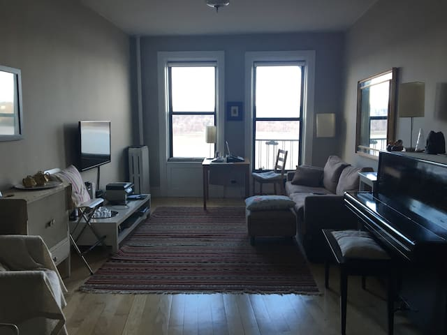 Awesome apartment close to Express Train - Nueva York - Departamento