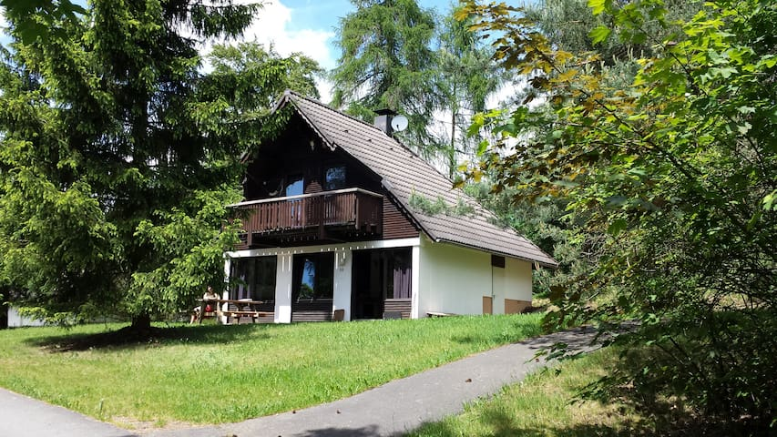 Qute little cottage at the forest - Frankenau - Dom