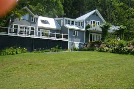Vermont w/views, privacy,pond,golf  - Tunbridge - House