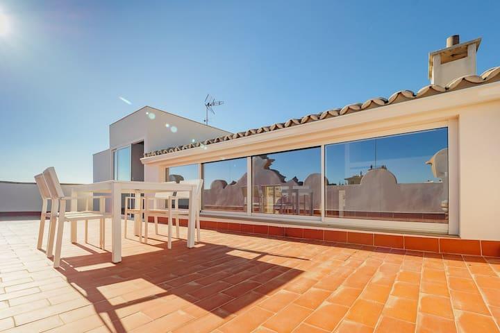 Santa Catalina 100m² Penthouse +45m² Dachterrasse