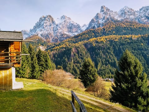 "The ""small"" Maso Raris Chalet & Dolomites Retreat"
