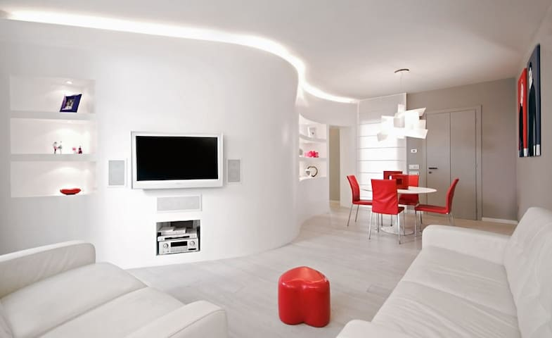 Modern Apartment 50Mt from Beach - Viareggio - Byt