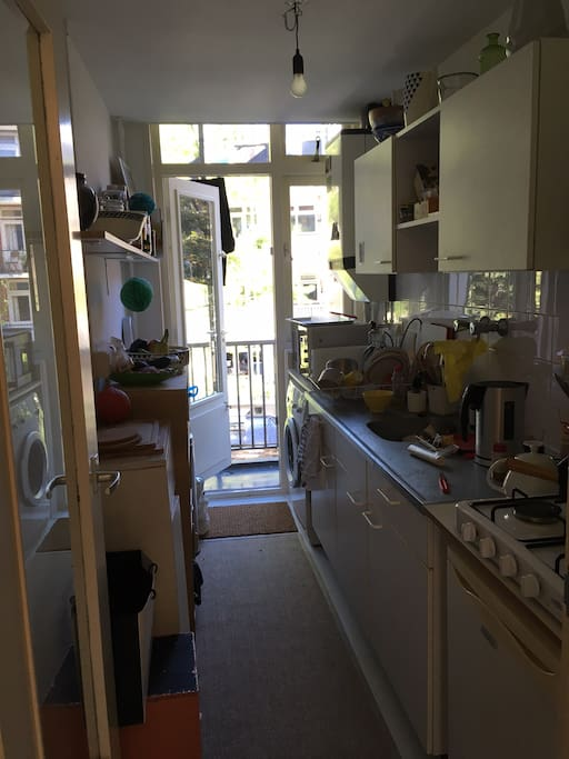 Kitchen, small but practical!