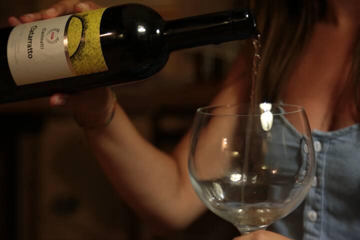 vino catarratto di canicatti