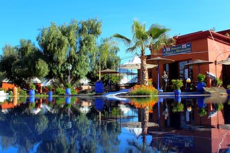 Tente Berbère piscine jacuzzi ...  - Marrakech